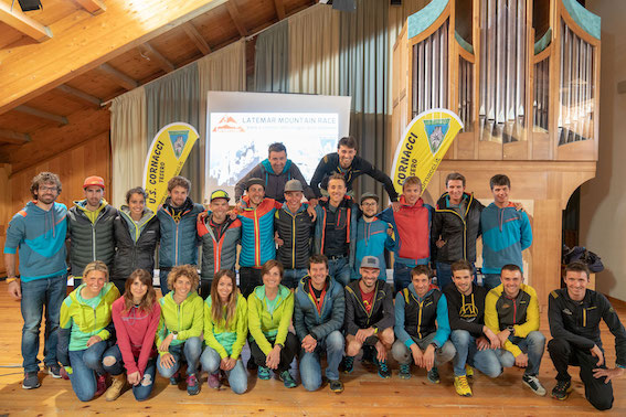 Latemar Mountain Race: il team La Sportiva (foto Marco Busacca)