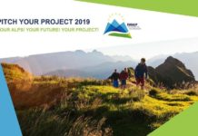 La locandina del concorso Pitch your project 2019